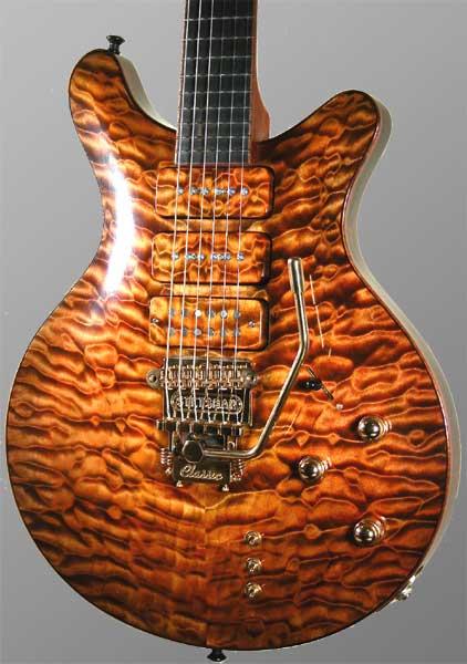 clou waterbeits op gitaar
